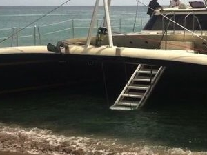 Catamaran Party Cruise to Nevis from St Kitts Photos