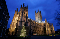 Christmas Eve at Leeds Castle, Canterbury and Dover  Photos