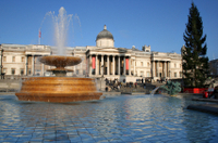 Christmas Morning London Panoramic Tour Photos