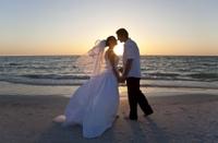 Civil Wedding Ceremony on a Miami Beach Photos