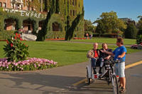 Craigdarroch Castle Pedicab Tour Photos
