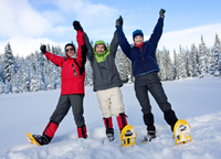 Dog Sledding and Snowshoeing Winter Adventure from Anchorage Photos