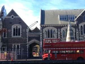 Christchurch Sightseeing Tour by Classic Double-Decker Bus Photos