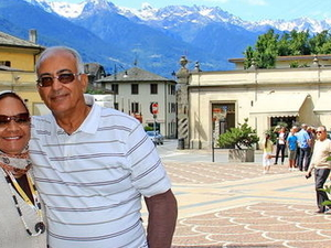 Swiss Alps Bernina Express Rail Tour from Milan Photos