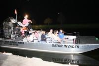 Florida Airboat Adventure at Night Photos
