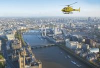 Helicopter Flight in London Photos