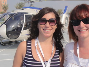 Helicopter Flight in Dubai Photos