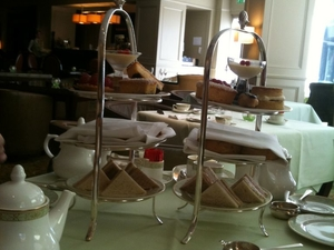 London Afternoon Tea at Grosvenor House Photos