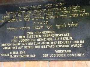Jewish Life in Berlin Half Day Walking Tour Photos