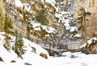Johnston Canyon Icewalk Photos