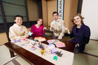 Kyoto Small-Group Cultural Experience: Calligraphy or Origami Class Photos
