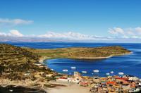 Lake Titicaca and Sun Island Catamaran Cruise from Puno
