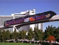 Las Vegas Monorail Ticket Photos