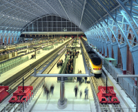 London St Pancras Eurostar Private Arrival Transfer Photos