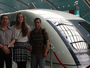 Departure Transfer by High-Speed Maglev Train: Hotel to Shanghai Pudong International Airport Photos