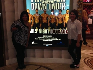 Thunder from Down Under at the Excalibur Hotel and Casino   Photos