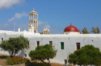 Mykonos Shore Excursion: Private Tour of Little Venice, Kalafati Beach and Panagia Tourliani Monastery Photos
