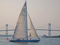 Newport Harbor Sail Aboard Former America's Cup Yacht