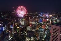 New Year's Eve at Sydney Tower Eye Photos