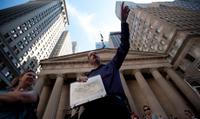 New York City and Wall Street Financial Crisis Tour Photos