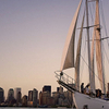 New York Sailboat Cruise with Wine, Cheese and Charcuterie