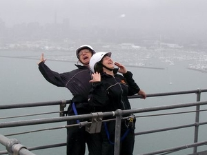 Auckland Harbour Bridge Climb Photos
