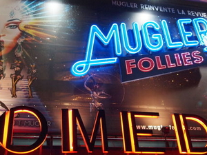 Mugler Follies Cabaret in Paris Fotos