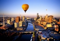 Private Balloon Flight over Melbourne Photos