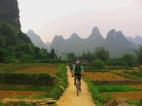 Private Bike Tour: Yangshuo Countryside Adventure with Family Option