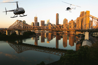 Private Brisbane Twilight Helicopter Tour Photos