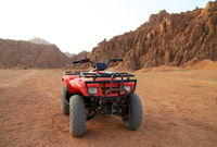 Quad Biking in the Egyptian Desert from Hurghada Photos
