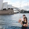 Sunset Sailing on Sydney Harbour