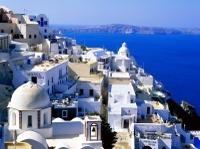 Santorini Shore Excursion: Private Scenic Tour of Santorini, including Oia and Mt Profitis Ilias Monastery Photos