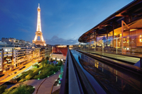 Seine River Cruise and Rooftop Dinner at Les Ombres Restaurant with Eiffel Tower Views Photos