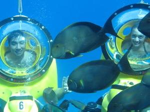 Oahu Submarine Scooter Adventure  Photos
