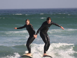 Surfing in Cape Town Photos