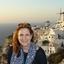 The Setting Sun In Santorini - Athens