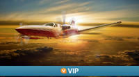 Viator VIP: Las Vegas Scenic Flight by Private Plane with 3-Course Dinner Photos
