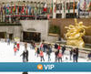 Viator VIP: Rockefeller Center Ice Skating and Dining Experience