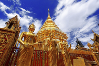 Wat Doi Suthep Temple and White Meo Hilltribe Village Half-Day Tour from Chiang Mai Photos