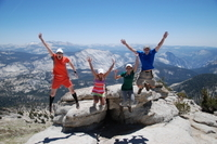 Yosemite Hiking Excursion Photos