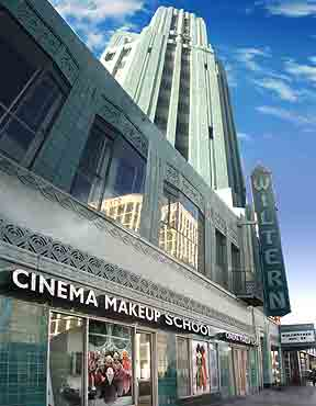 Cinema Makeup Escola Los Angeles