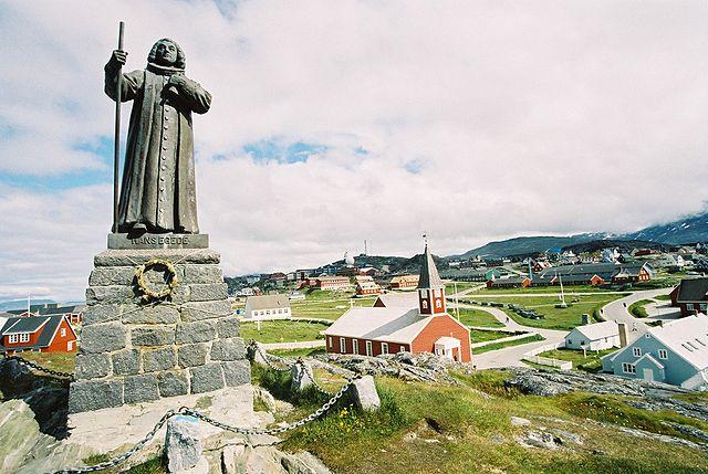 Statue of Hans Egede Nuuk Greenland Tourist Information